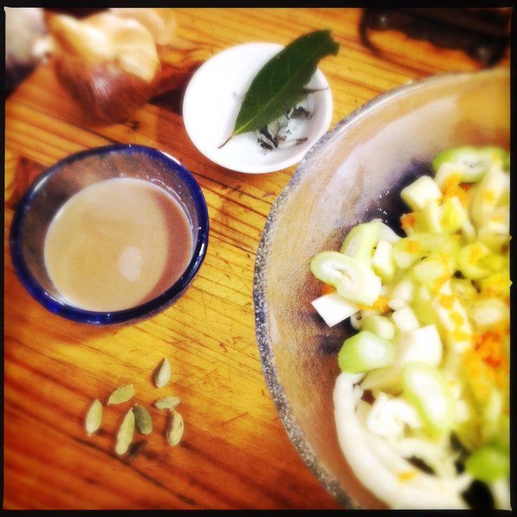 Cutting Chai | Ginger and Cardamon Chai