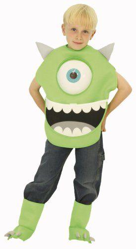 Amazon | ディズニー モンスターズインク マイク キッズコスチューム 男の子 100cm-120cm 802534S | キッズコスチューム 通販