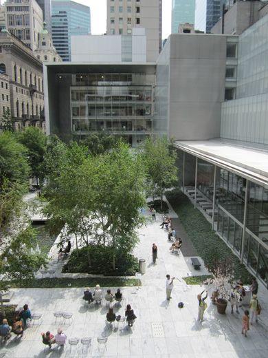 谷口吉生&KPF《ニューヨーク近代美術館》 Yoshio Taniguchi & KPF, Museum of Modern Art, 2004. New York, USA 中庭
