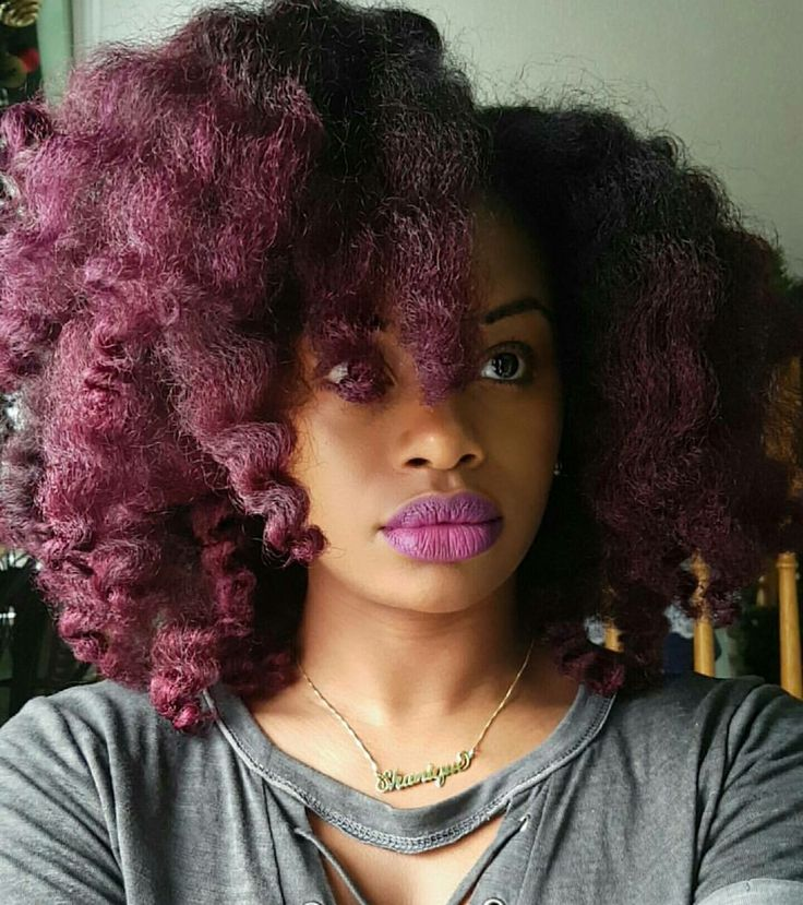 Best 25+ Purple natural hair ideas on Pinterest