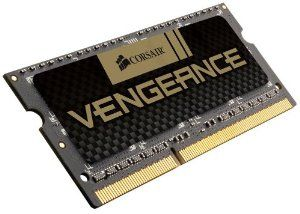 Corsair Vengeance 8GB (1x8GB) DDR3 1600 MHz (PC3 12800) Laptop  Memory (CMSX8GX3M1A1600C10) by Corsair. $59.99. From the Manufacturer                 Vengeance laptop memory upgrade kits are designed for getting the most performance from notebook and laptop PCs. Vengeance memory modules are built with DRAM chips specially selected for their high-performance potential.   The SODIMM form factor allows you to bring  award-winning Vengeance memory performance to your notebook PC. ...