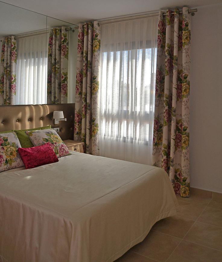98 best images about nuestros trabajos clientes contentos - Cortinas de dormitorio ...