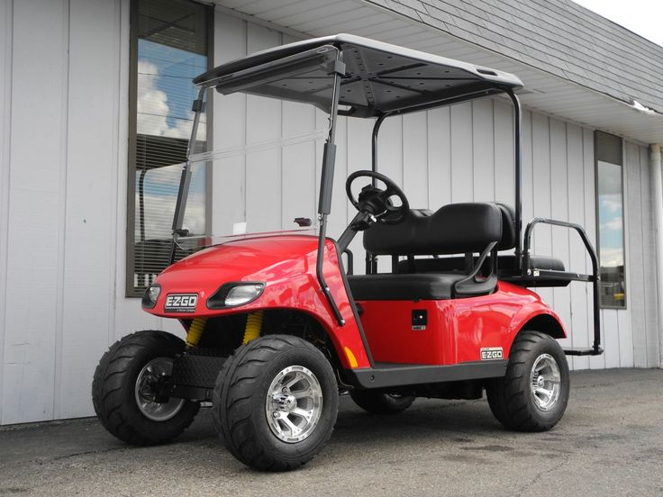 Like New Street Ready 2014 E Z Go Valor Gas Golf Car With