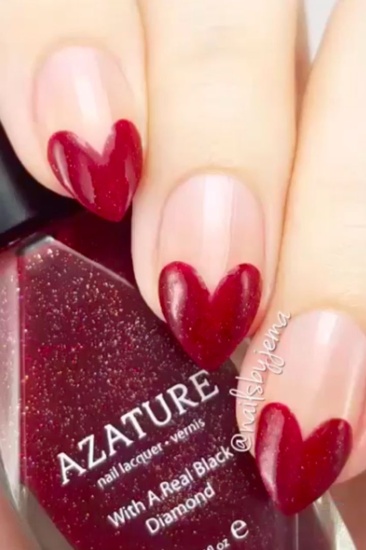 14 Valentine's Day Nail DIYs You'll Totally Heart