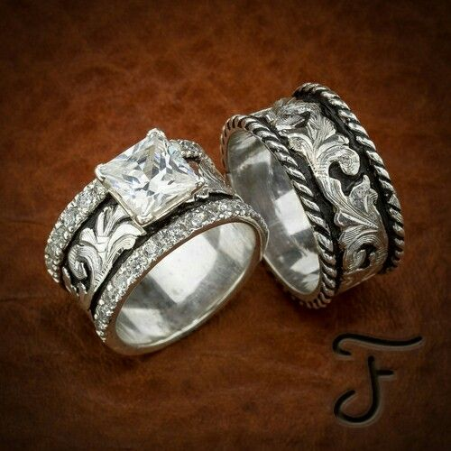 Wedding set western design