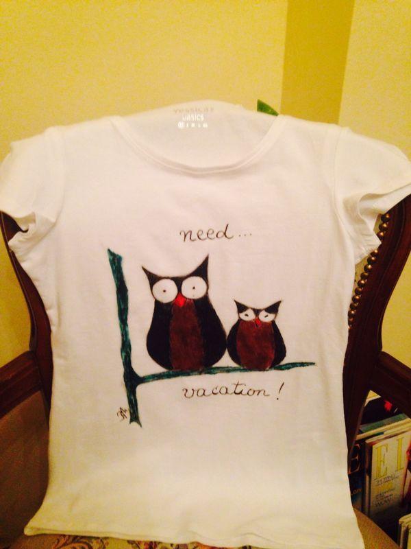 Tricouri pictate cu drag, by Ralu | http://cristinamarascu.ro/tricouri-pictate-cu-drag-ralu/