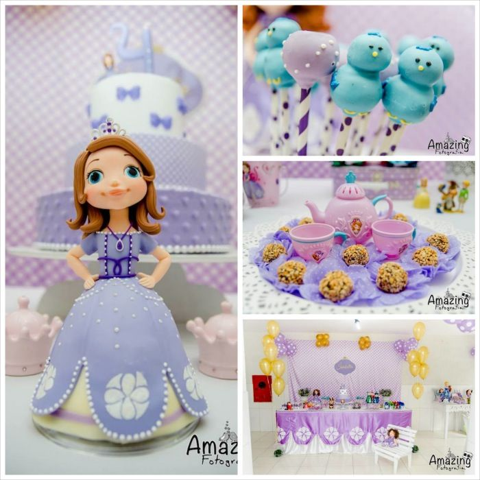 Sofia the First Themed Birthday Party with So Many Cute Ideas via Kara's Party Ideas | KarasPartyIdeas.com #princessparty #sofiathefirstpart...