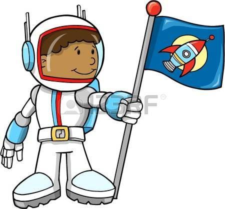 Cute Astronaut Illustratie