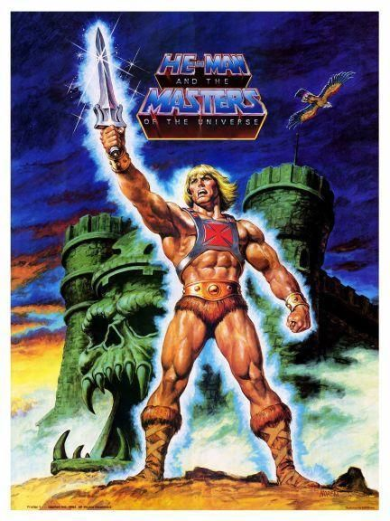He-man  Poster #1  Masters Of The Universe  large & Amazing Image  He Man from $12.94