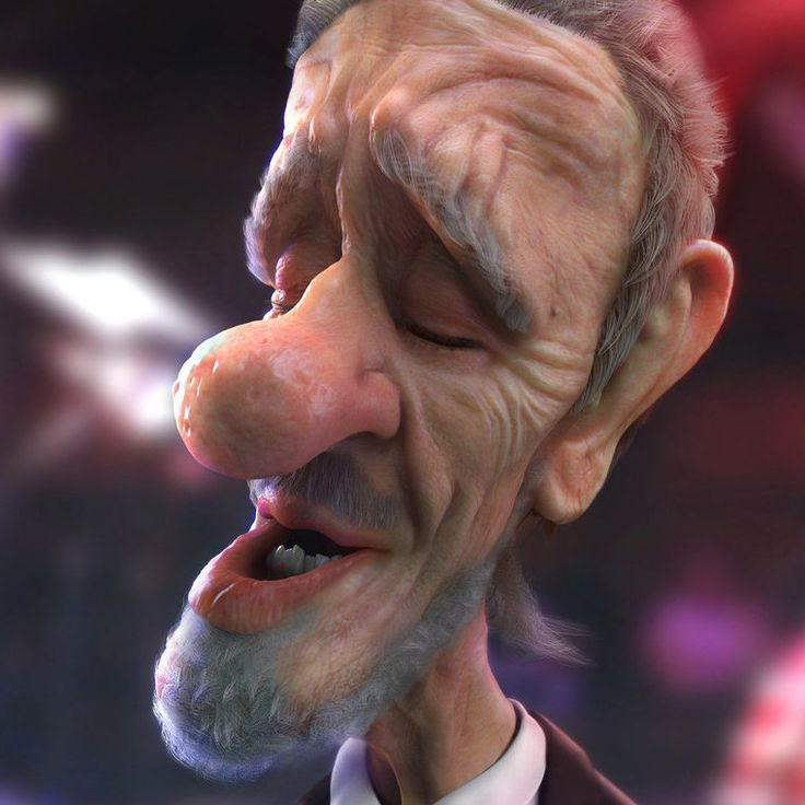 cartoon head render, Frank Tzeng on ArtStation at https://artstation.com/artwork/cartoon-head-render