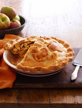 Please the crust-lovers in your family with this double-crust apple pie recipe.