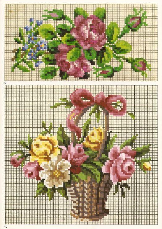 """Képtalálat a következőre: """"pinterest ramos de flores bordados"""""""