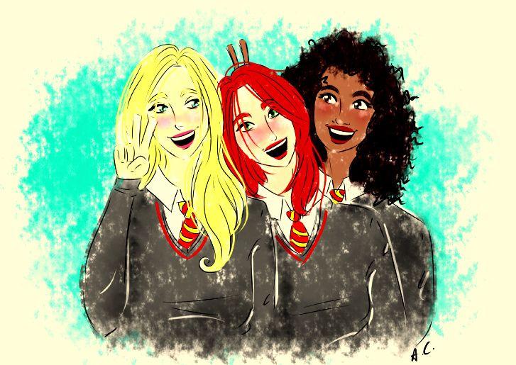 Mischief Managed! Marlene Mckinnon, Lily Evans, Dorcas Meadowes