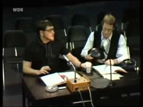 Sketsch Dieter Krebs - Theaterprobe