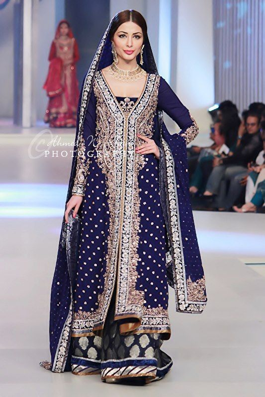 Latest Beautiful Walima Dresses Collection for Wedding Bridals 2015-16 (28)
