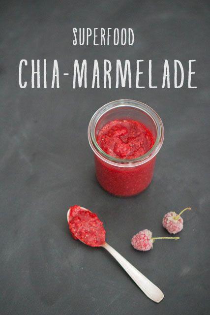 Superfood Chia-Marmelade