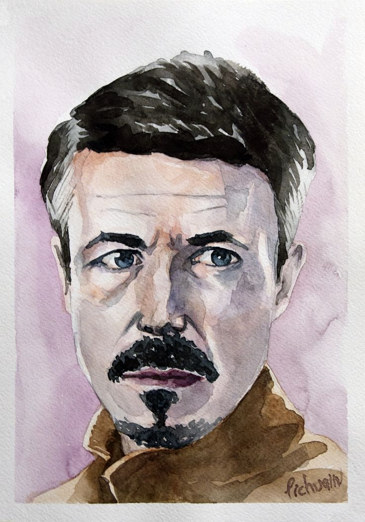 Petyr Baelish #Petyr Baelish #gameoftrones #portrait #watercolor #aquarelle