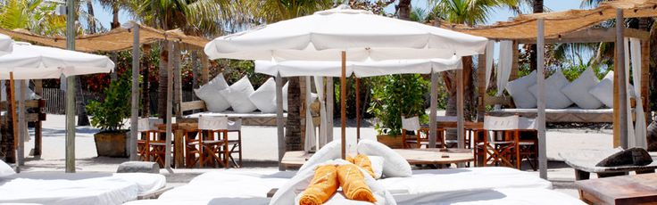 Nikki Beach Club | Miami | A great way to start the day, especially after a long night!