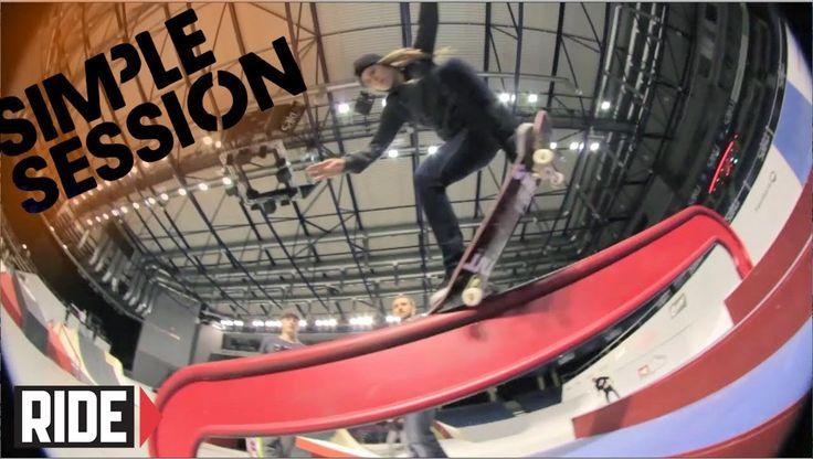 Ryan Sheckler, Greg Lutzka, Phil Zwijsen & More - Simple Session 2014