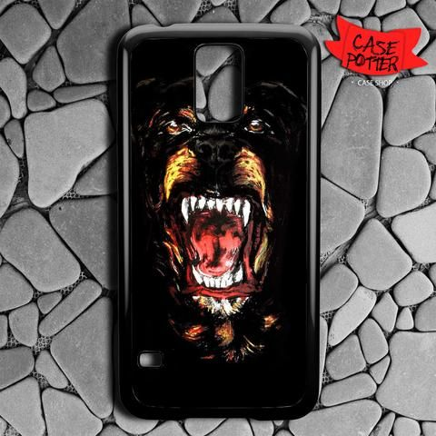 Angry Rottweiler Samsung Galaxy S5 Black Case