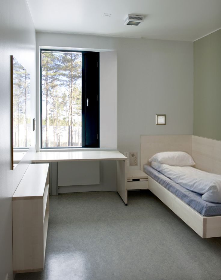Modern Prison Cell Hospital Architecture Prison Cell