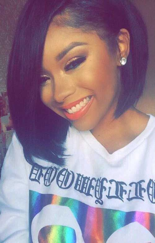 Peachy 1000 Ideas About Black Bob Hairstyles On Pinterest Black Bob Hairstyle Inspiration Daily Dogsangcom