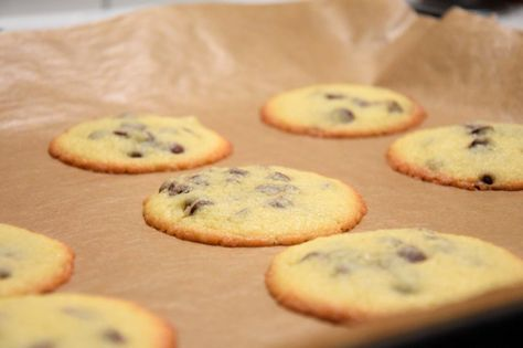 Cookies mit Schokodrops | Küchencottage Super schnell zubereitet und weil sie so lecker sind auch genauso schnell wieder weg :-) #Cookies #Schokolade #Backen #Backenmitliebe #Foodblog #Rezept