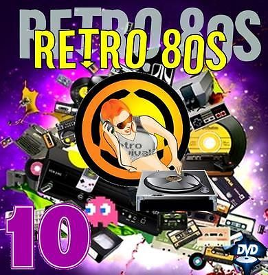 Dj Video Mix - RETRO 80s 10 - 80 Minutes of Classic Hits!!!!!!  Watch Preview