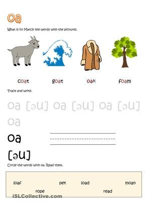 15 best esl worksheets images on pinterest long vowels phonics and printable worksheets. Black Bedroom Furniture Sets. Home Design Ideas