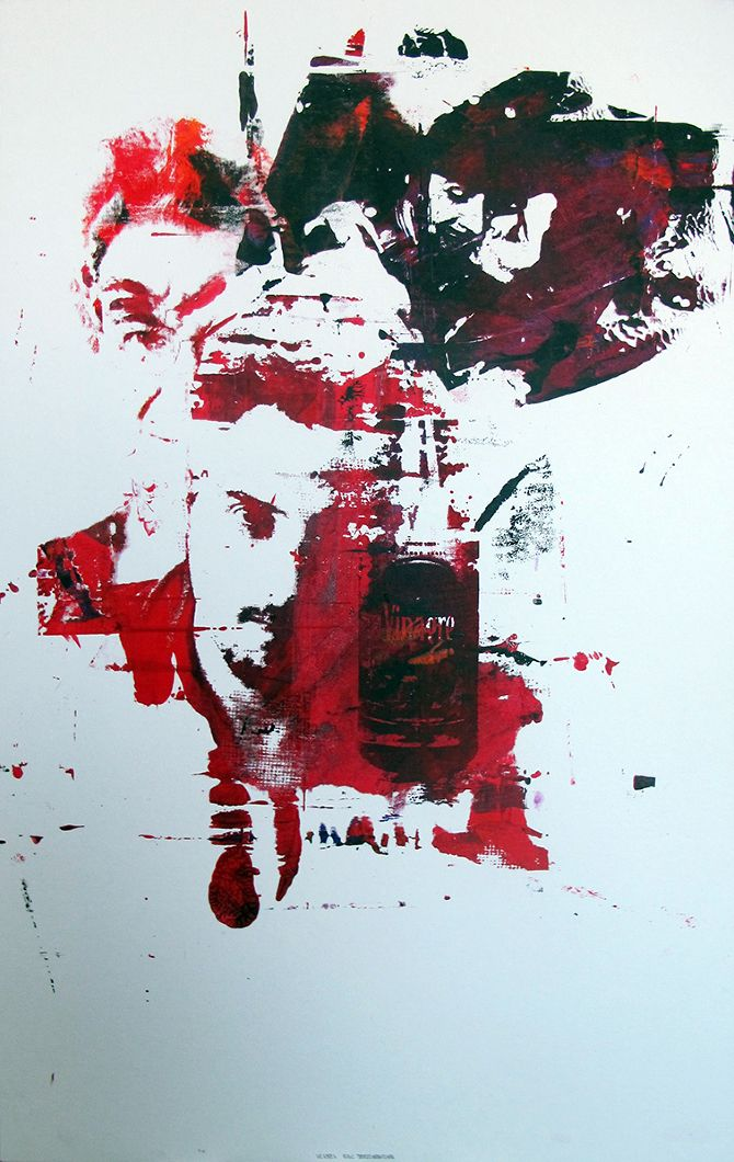 Filipe Codeço – Brazil, Red, Antonio Negri, Lapa, vinagre, Design, Posters, Silk Screen, Graphic, Prints, Color, Political Portraits, Movements, Protests, Art