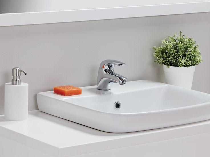 Porcher Cygnet Semi Inset Basin 289 Bathroom