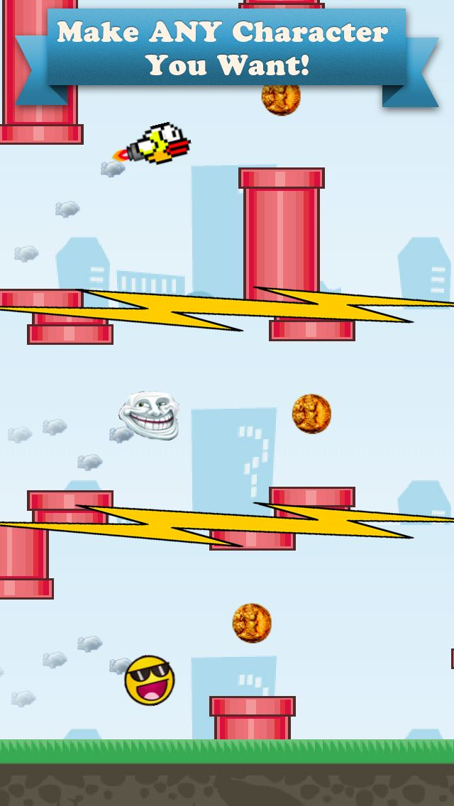 Create any Avatar you want and play it in the game! www.flyingavatar.com #flyingavatar
