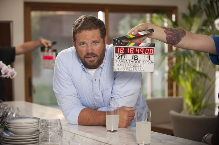 David Denman on set! | #Parenthood