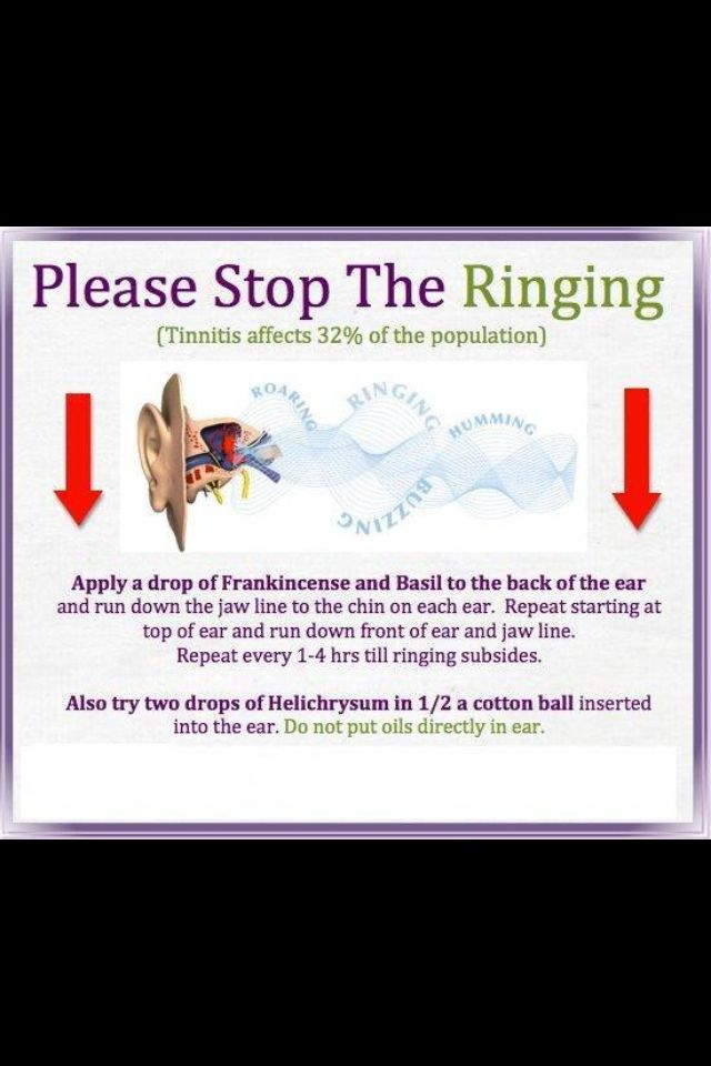 Natural Ways To Stop Ringing In Ears