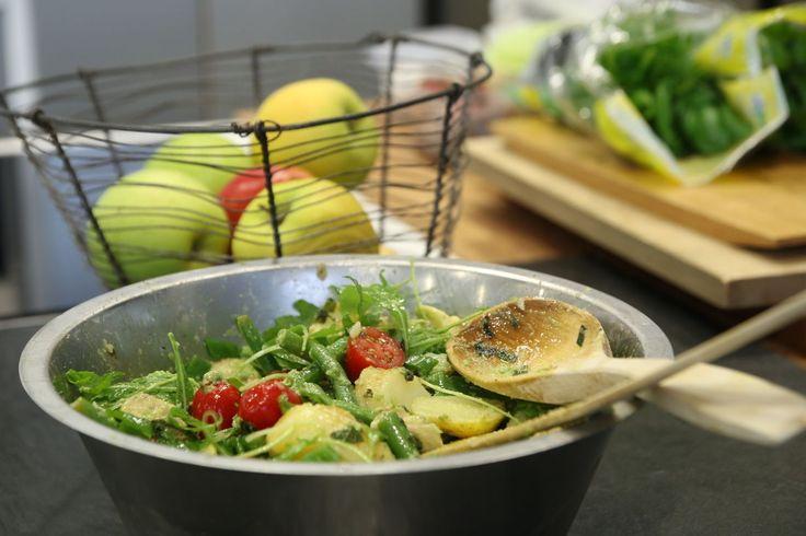 Avokado-perunasalaatti | Soppa365