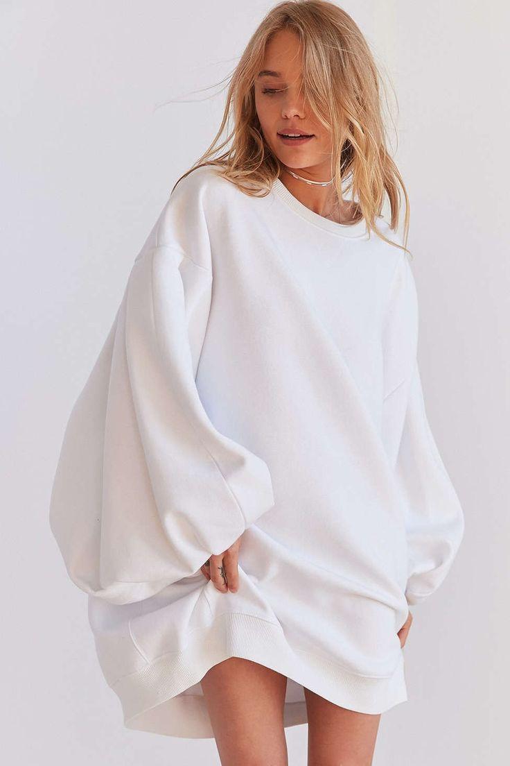 Silence + Noise Anna Oversized Sweatshirt Dress - Urban Outfitters
