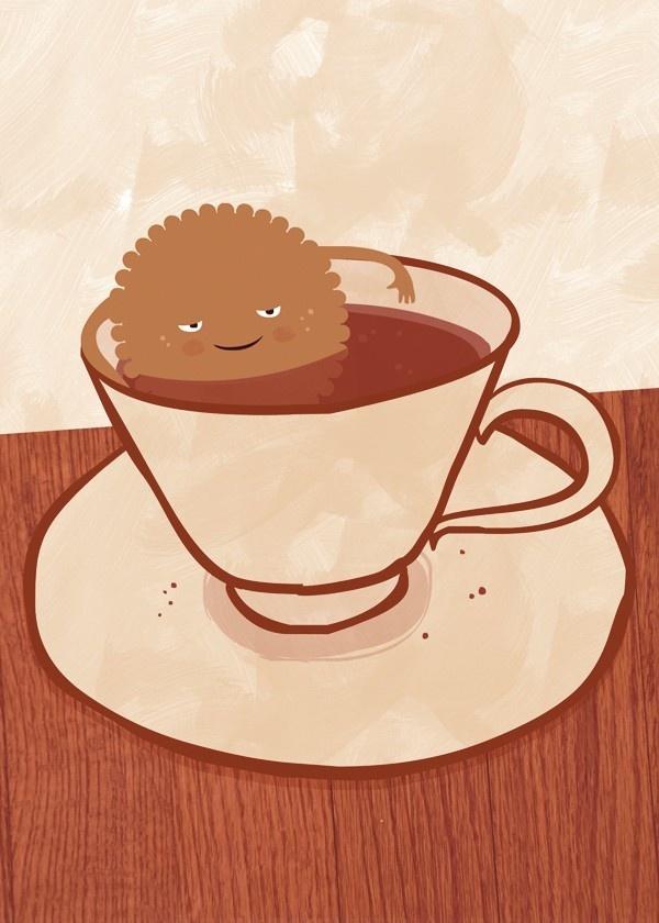 Dunk Cookies: Von Milkandcooki, Art Inspiration, Milkandcooki Auf, Artsy Farhsti, Art Prints, Auf Etsy, 10 Art, Dunks Cookies, Children Art