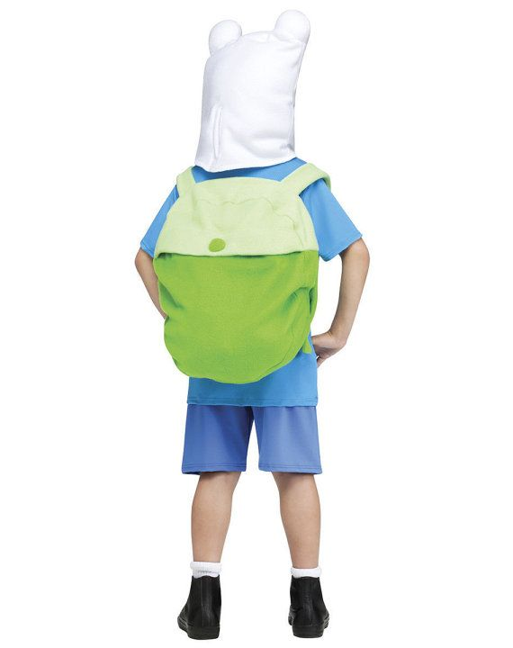 Hey, I found this really awesome Etsy listing at https://www.etsy.com/listing/168466509/adventure-time-finn-hat-backpack-set-bag