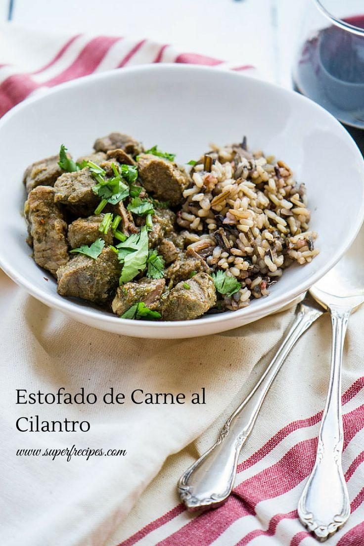 Estofado de Carne al cilantro