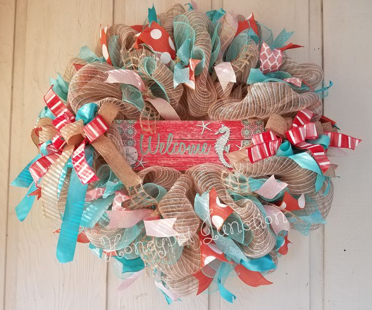Gorgeous Beach Wreath by Honeypot Junction