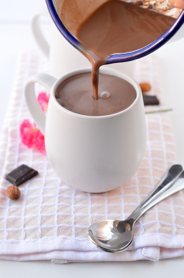 Low Carb Hot Chocolate With Almond Milk And Unsweetened Cocoa