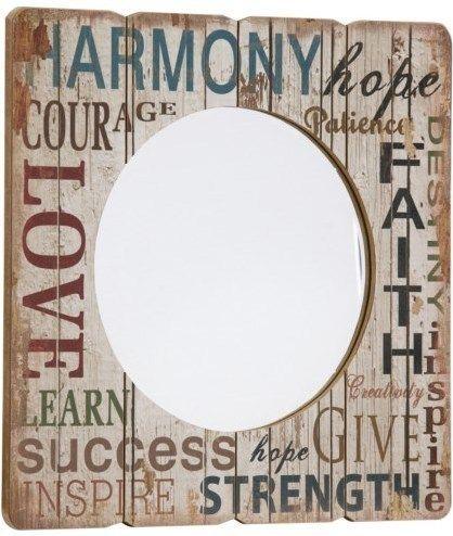 Nástenné zrkadlo HARMONY, HOPE, FAITH