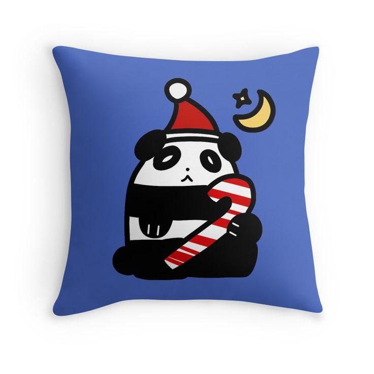 Christmas Candy Cane Panda