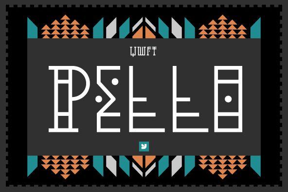 Ywft Pello By Jackkrit Anantakul Desktop Font Webfont