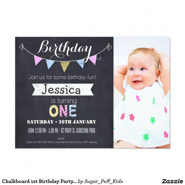 the 25+ best 1st birthday invitation wording ideas on pinterest, Birthday invitations