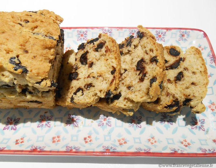 Cake aux olives (vegan)
