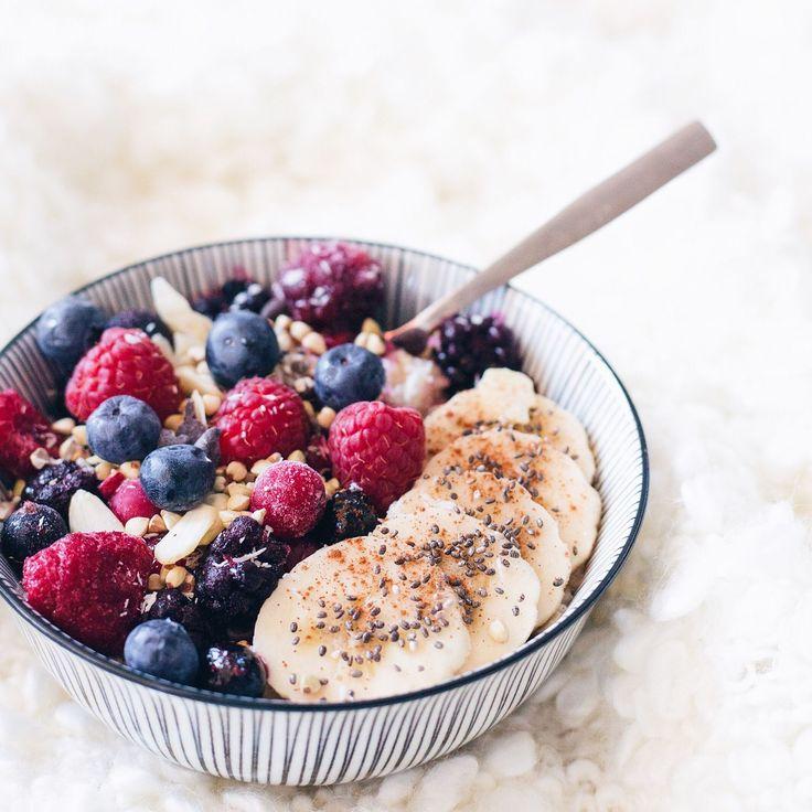 Le porridge à varier à l'infini !
