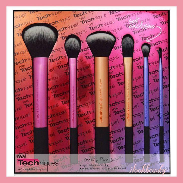 Real Techniques Sam's Pick Set Brush ��  Price : 135k/set  #beautyblender#beautyblendertermurah#makeup#makeupstudio#makeupartist#sponge#spongeblender#sephora#highlighter#foundation#jualbeautyblender#jualmakeup#concealer#beauty#jualconcealer#jualfitme#jualsephora#sephorapallette#jualnars#juallipstick#lipsticknarsmurah#jualtarte http://ameritrustshield.com/ipost/1549350813490336179/?code=BWAZlsmjdGz
