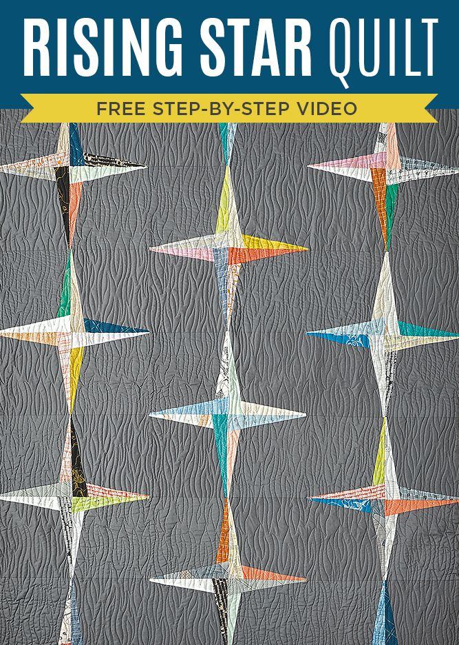 New Friday Tutorial: The Rising Star Quilt