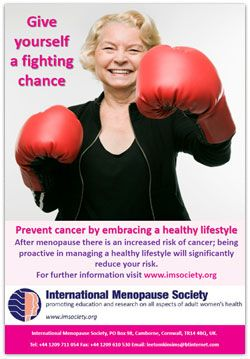 October is World Menopause Month! Go to www.healthaware.org for link to more information.